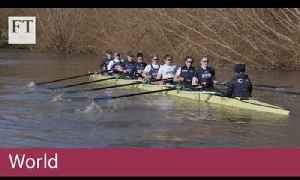 Oxford's women rowers pull together for equality [Video]