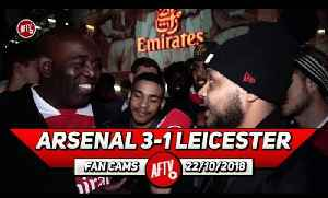 Arsenal 3-1 Leicester City | Xhaka Plays Better At Left Back!! (Troopz) [Video]