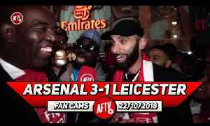 Arsenal 3-1 Leicester City | Iwobi Is The Nigerian Messi!!! (Moh Ft Kelechi) [Video]