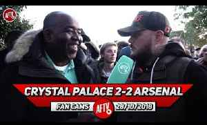 Crystal Palace 2-2 Arsenal | Zaha Is A Cheat It Was A Blatant Dive !! (DT) [Video]
