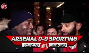 Arsenal 0-0 Sporting Lisbon | It Was Boring! I Hate This Competition!! (Moh) [Video]