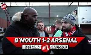 Bournemouth 1-2 Arsenal | We Can't Afford To Start Slowly Against Spurs! (Eisa) [Video]