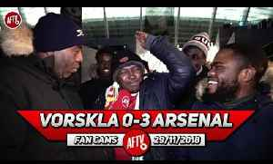 Vorskla 0-3 Arsenal | We Are Going To Beat Tottenham 4-1!! (Nigerian Gooners ) [Video]