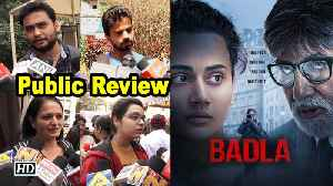 Public Review | Badla | Amitabh- Taapsee in engaging murder mystery [Video]