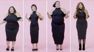 Women Sizes 0 to 28 Try on the Same Little Black Dress [Video]