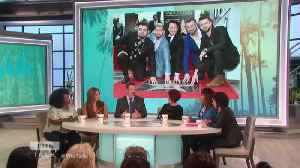 Joey Fatone on an 'NSYNC Reunion; Jokes Why He's 'mad' at Jonas Brothers [Video]