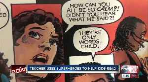 Lakeland teacher launches Comics in the Classroom program to help struggling students learn to read [Video]