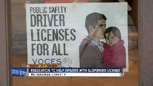 Wisconsin drivers could get back suspended licenses without paying [Video]