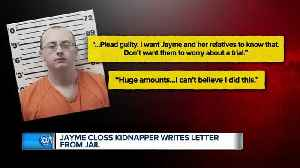 Report: Jayme Closs kidnapping suspect sends letter from jail to news station [Video]