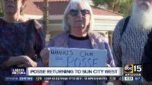MCSO Posse members returning to Sun City West [Video]