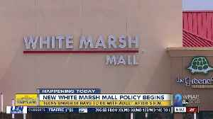 White Marsh Mall, The Avenue set new curfew for teens on Fridays, Saturdays [Video]