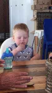 One-Year-Old Tries Vegemite for the First Time [Video]