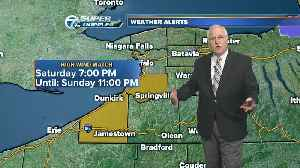 Milder going into the weekend but wet and windy coming out [Video]
