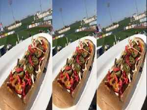 HOT DOG IN A BOAT! Rangers and Royals 2019 Spring Training Menu - ABC15 DIGITAL [Video]