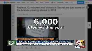 Charlotte Russe, GAP among chains closing record number of stores [Video]