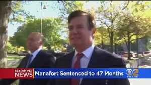 Former Trump Campaign Chair Paul Manafort Gets 47 Months For Bank, Tax Fraud [Video]