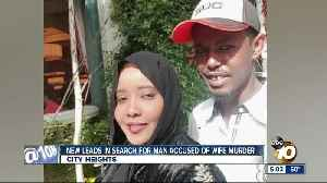 New leads in search for City Heights man accused of wife's murder [Video]