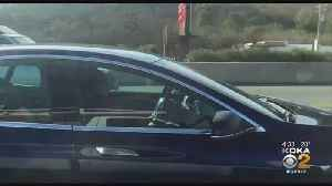 Video Shows Tesla Driver Apparently Asleep At The Wheel [Video]