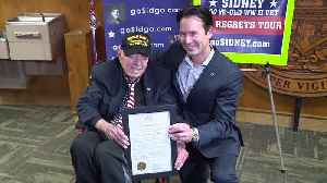 100-Year-Old WWII Vet Gets Day Named After Him in San Diego [Video]