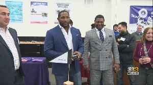 Ravens Hall of Famer Ray Lewis Promotes STEM Programs, Inspires Youth [Video]