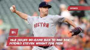 Steven Wright Gets An 80 Day Ban From Major League Baseball [Video]
