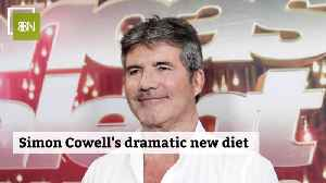 Simon Cowell Tries Drastic New Diet [Video]