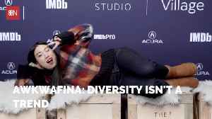 Awkwafina Makes A Bold Statement About Diversity [Video]