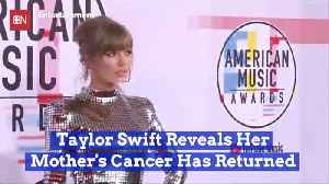 Taylor Swift Gets Bad News About Mom [Video]