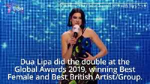 Global Awards 2019: Dua Lipa says woman are finally getting recognition [Video]