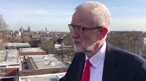 Corbyn Says Labour MPs Will Be Whipped To Vote Against A No-Deal Brexit [Video]