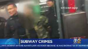 Spate Of Subway Crimes [Video]