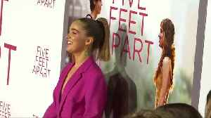 Cystic fibrosis love story 'Five Feet Apart' premieres in Los Angeles [Video]