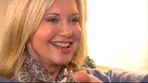 Olivia Newton-John treats stage 4 cancer pain with homegrown cannabis [Video]