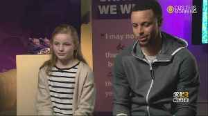 Steph Curry, Under Armour Partner With 9-Year-Old To Produce Girls Shoes [Video]