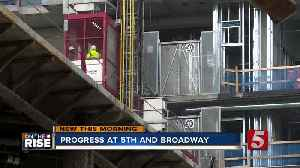 5th & Broadway rises high above ground-level as project reaches new milestones [Video]