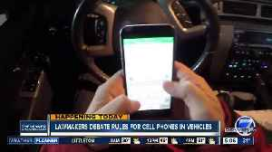 State lawmakers debate cell phone rules [Video]
