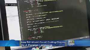 Coding Classes Would Count As Foreign Language Under Bill [Video]