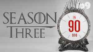 Everything to Know About Game of Thrones Season 3: 90 Second Recap [Video]