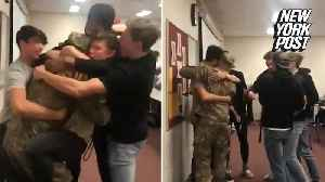 High school coach deployed to Afghanistan gets the most amazing homecoming [Video]