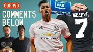 News video: THAT Man United-PSG Penalty: Is VAR Ruining Football? | Comments Below