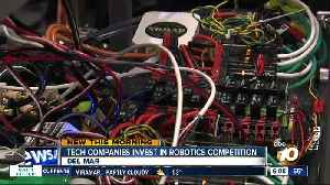 Tech companies invest in robotics competition [Video]