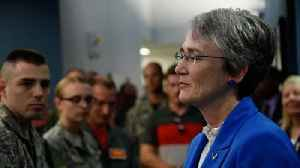 News video: 'Fantastic Job': Trump Praises Air Force Secretary Heather Wilson After Resignation Report