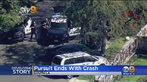 3 Taken Into Custody At End Of Wild Chase [Video]