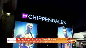 'Jersey Shore' Star Vinny Guadagnino Set To Host Chippendales! [Video]