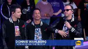 New Kids On The Block Perform Latest Single 'Boys in the Band' on 'GMA' | Billboard News [Video]