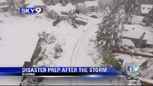 Lessons Learned: Snowstorm sheds light on disaster preparedness [Video]