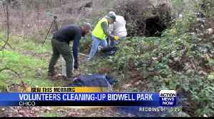 Volunteer group consistently cleans up Bidwell Park [Video]