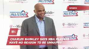 Charles Barkley Tells NBA Players To Smile [Video]