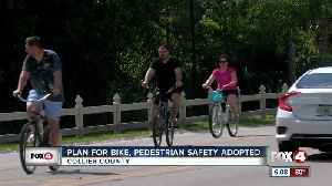 Collier officials adopt plan making cyclist safety a priority [Video]