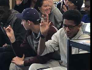 WWII vets bring 'living history' lesson to South High School [Video]